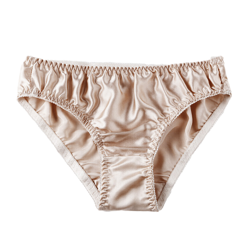 Sexy Real Silk Women's Underwear Seamless Panties Female Briefs Ladies Comfortable Lingerie for Girls Shorts 2021 Spring 1
