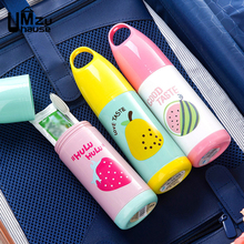 Travel Toothbrush Toothpaste Cup Storage Boxes Wash Cute Fruit Pattern Home Bathroom Organization Portable Organizer with Cover