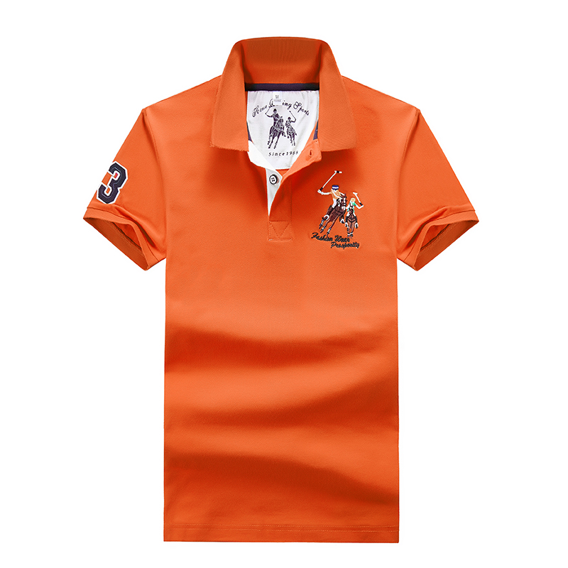 High Quality Polo Shirt Men Summer Cool Lapel Short-sleeved Polyester Quick-drying Fashion Business 2018 Men's Shirt Polos 4XL
