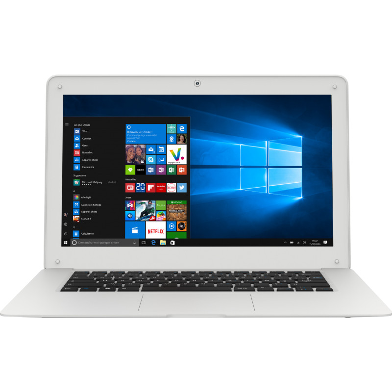 14.1 Inch Ultrabook Notebook Windows 10 Intel Z3735F Quad Core 2GB RAM 32GB Bluetooth 4.0 Laptop 1366 X 768 Pixel TN
