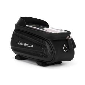 Image 2 - Wheel Up 7.0 Inch Waterproof Bicycle Bag Frame Front Top Tube Hard Shell Bag Phone Case Touchscreen Bag MTB Bike Accessories