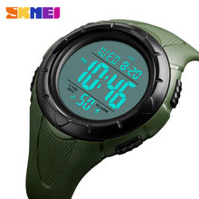 Skmei Busana Pria Watch Digital Watch 50M Tahan Air Pria Jam Tangan Chronograph Luminous Olahraga Jam Tangan Relogio Masculino 1535(China)