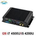 Промышленный мини-ПК intel core i5 4200U i7 4500U 4650U с 6COM RS232 RS422 RS485 HDMI VGA GPIO LPT порты для медицинской промышленности