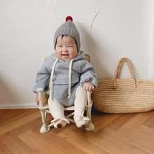 Одежда для новорожденных мальчиков в полоску с длинными рукавами