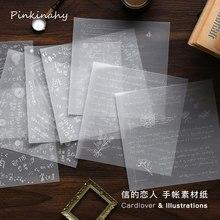 Bloco pegajoso de notas, bloco de notas para escritório e escola, transparente, de papelaria