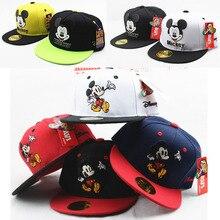 Модная детская шапка с мышкой из мультфильма для мальчиков и девочек; Здоровые Удобные милые бейсболки; бейсбольная кепка с регулируемой вентиляцией