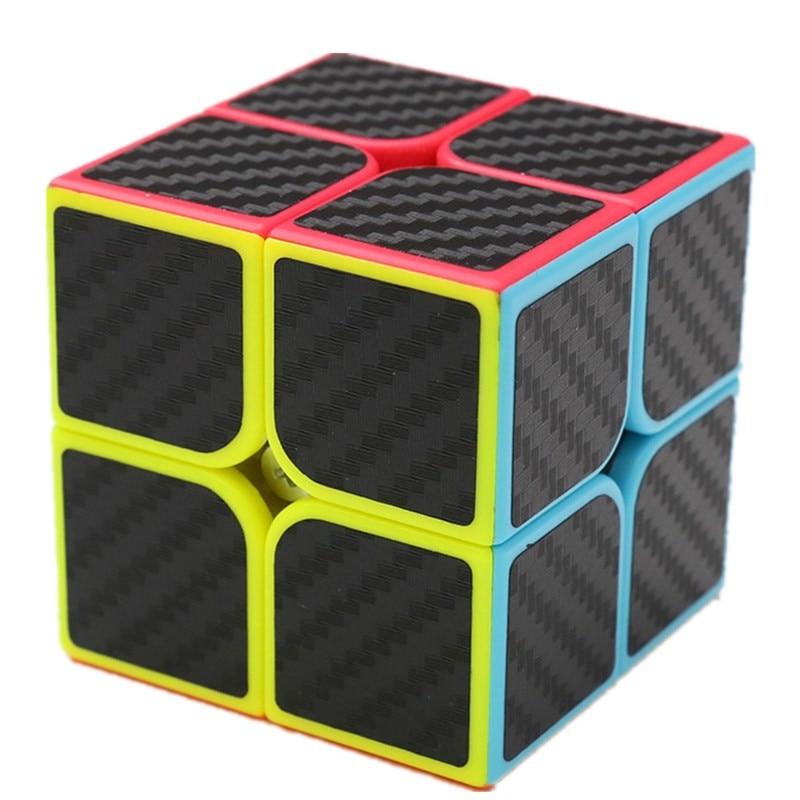 3x3x3 Carbon Fiber Gift Ultra-smooth Magic Cube Speed Twist Puzzle Children Game