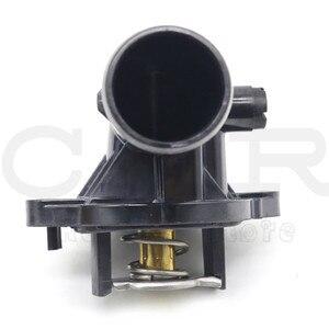 Image 2 - 5184651AH OEM Neue Kühlmittel Thermostat Gehäuse für Dodge für Jeep 3,6 L 3,0 L 2012 2017 05184651AG 5184651AG 05184651AH 5184651AF