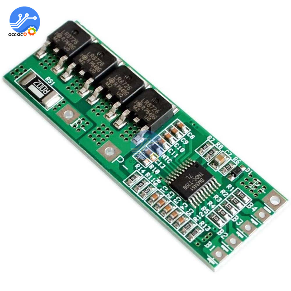 BMS 5S 10A 18.5V 21V 18650 Li-ion Lithium Battery Charger Protection Circuit Board PCB Battery Equalizer Balance