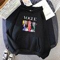 Новинка 2021, толстовка, зимняя уличная одежда, худи с принтом, пуловеры, модная Осенняя Толстовка в стиле Харадзюку, Женская свободная Корейс...