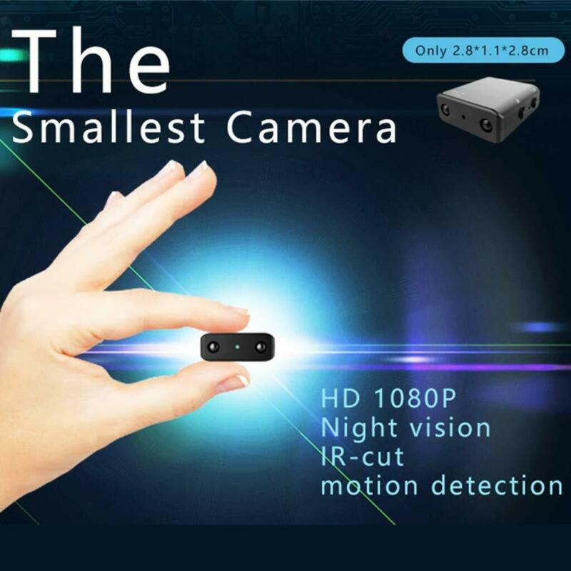 Pymh Camera Home Mini Video Recorder Small Security Mirco Nanny Ir