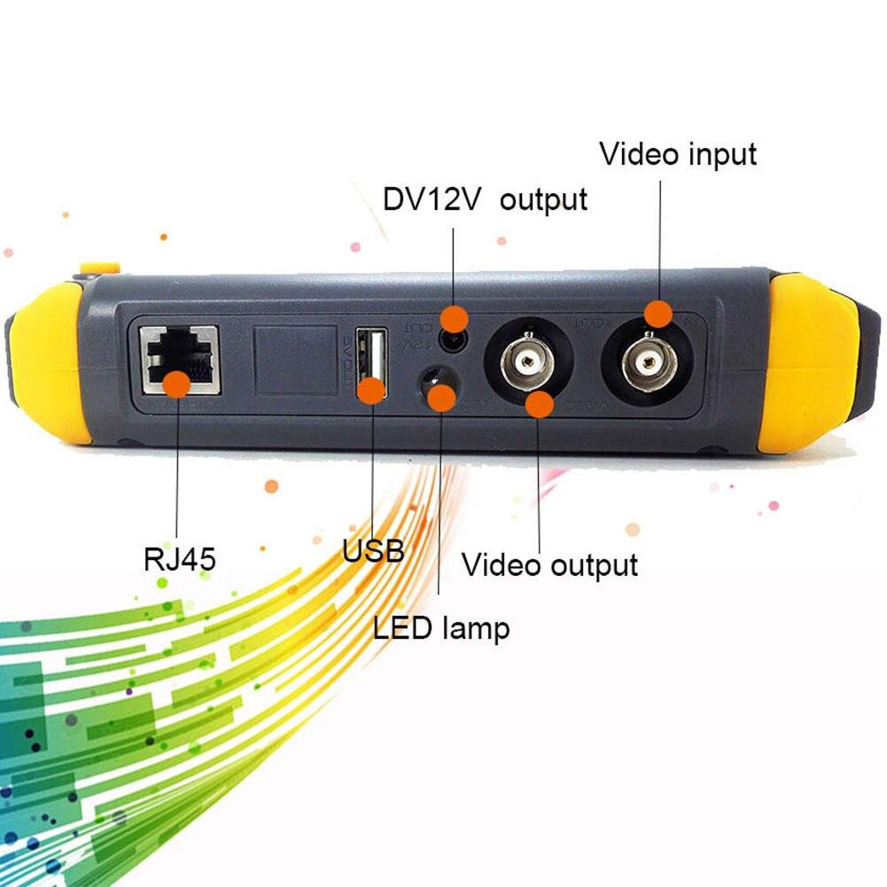 5 pouces CVBS analogique HD testeur de vidéosurveillance moniteur LCD affichage AHD CVI caméra sécurité HDMI TVI Audio vidéo 5MP Mini
