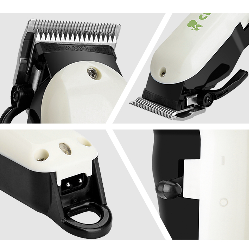 ChangWei pet dog cat Hair Trimmer Grinder Grooming Clippers Pet shop special dog shaver tool Chrome plated fine steel blade