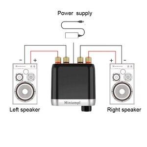 Image 3 - Bluetooth 5.0 ハイファイ TPA3116 パワーアンプデジタルアンプボード 50 ワット * 2 ステレオオーディオインジケータで音楽スペクトル