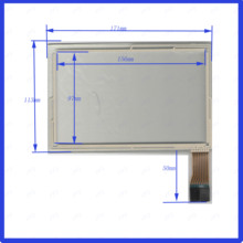171*113mm  7inch  8lines For Car DVD Industrial application touch screen panel  this is compatible  TouchSensor FreeShipping new 4 line xwt624 128mm 37mm this is compatible 128 37 touchsensor freeshipping this is compatible