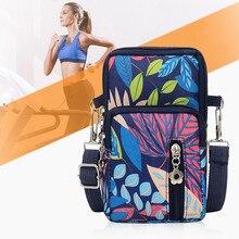 2021 Women Mini Crossbody Bag Diagonal Shoulder Mobile Phone Bag Sports Outdoor Lady Arm Bag Foreign Trade Leisure Nylon Bag