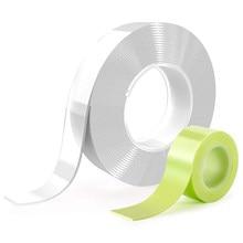 Gekko-Cinta adhesiva de doble cara para alfombras cinta adhesiva transparente de doble cara de 50cm y 1/2/3/5m de acrílico Universal lavable