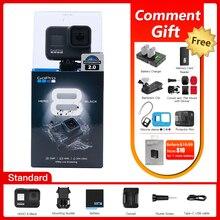 GoPro – Caméra daction HERO 8 Black, vidéo 4K Ultra HD/1080p, étanche, avec diffusion en direct, pour le sport, produit original