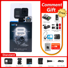 Original GoPro HERO 8 Schwarz Action Kamera Go Pro Wasserdichte Sport Action Kamera 4K Ultra HD Video 1080p tragbare Live-Streaming(China)