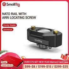 Rail otan à dégagement rapide small rig avec vis de positionnement ARRI 35mm pour supports daccessoires ARRI 2501
