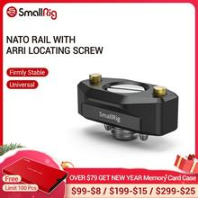 SmallRig riel NATO de liberación rápida, con tornillo de localización ANCI de 35mm, para soportes de accesorios ANCI 2501