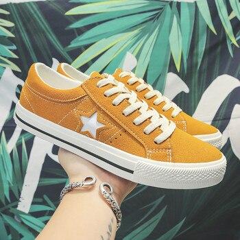Zapatos de lona con estrellas para Hombre, Zapatillas transpirables, todo a juego,...