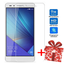 ZOKTEEC 2Pcs Tempered Glass For Huawei Honor 7 Screen Protector Film 9H 2.5D Tempered Glass For Huawei Honor 7 Honor7 7 lite все цены
