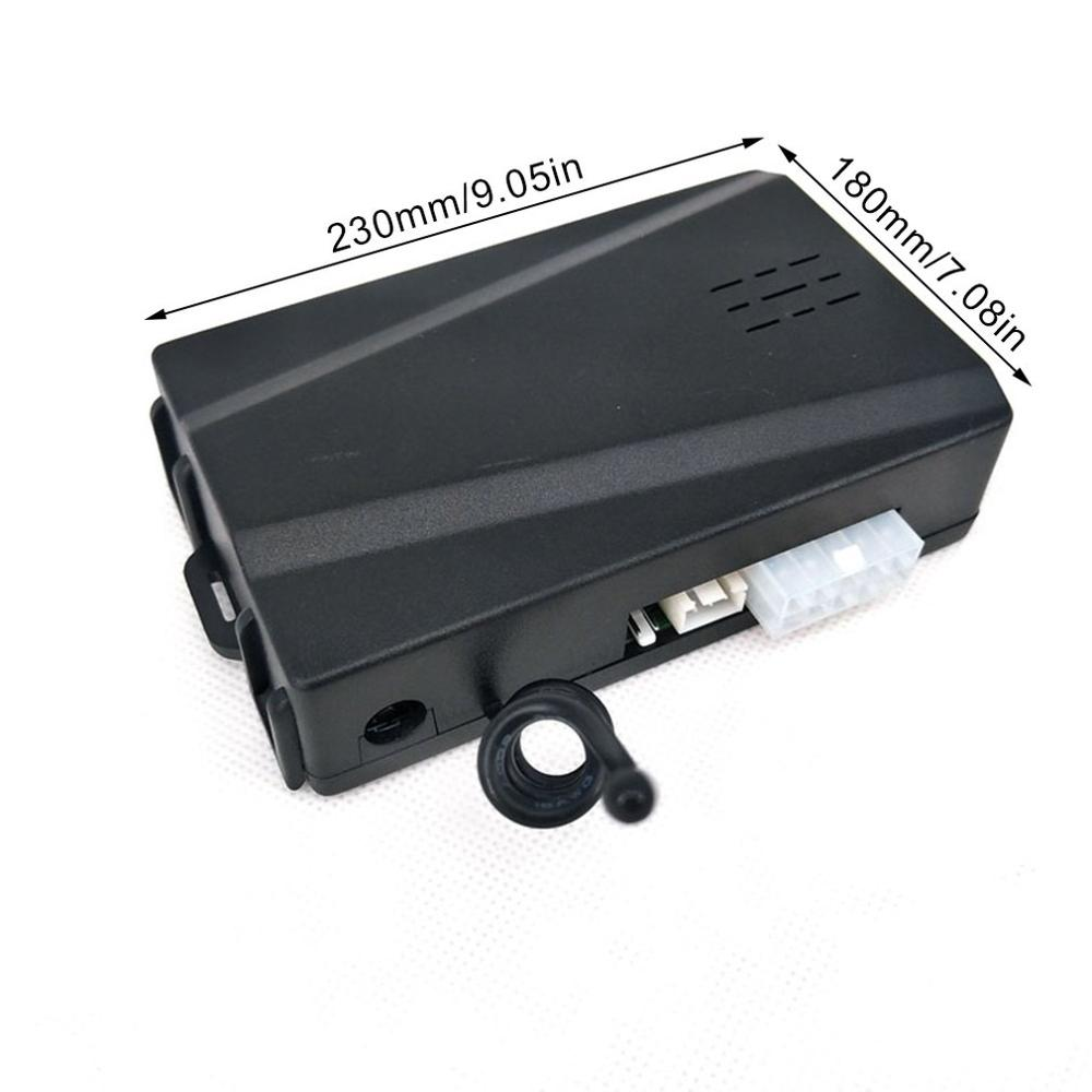 Partol Smart Key PKE alarme de voiture passif sans clé système de voiture démarrage moteur arrêt bouton poussoir démarreur à distance capteur de choc X5 - 6
