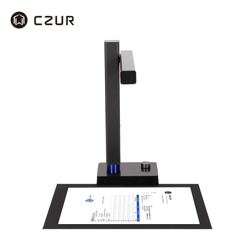 CZUR Shine Pro Series แบบพกพาความเร็วสูง A4 เอกสารสแกนเนอร์ 5MP/8MP ฟังก์ชัน OCR USB 2.0 เครื่องสแกนเนอร์สำหรับบ้านสำ...