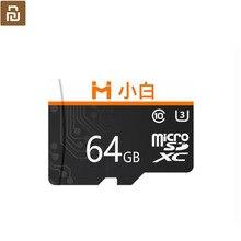 Youpin Xiaobai مايكرو SD بطاقة الذاكرة سعة كبيرة عالية السرعة نقل HD تسجيل الفيديو متوافق 32 64 128gb