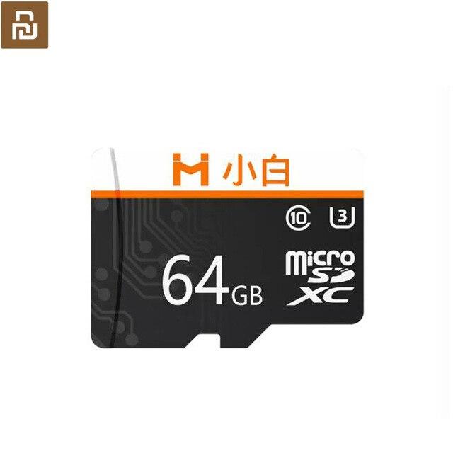 Youpin Xiaobai karta pamięci Micro SD o dużej pojemności wysoka prędkość transmisji HD nagrywanie wideo kompatybilny 32 64 128gb