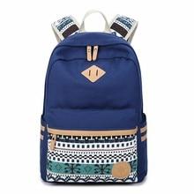 MYT_0218 Canvas Backpack for Women Multi Pocket Travel Backpacks Female School Bag Teenage Girls Book Mochilas
