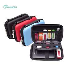 Digital Storage Bag Earphone Box Charger Cable Organizer Case for Wires Flash Drives USB Sheath Electronic Accessories
