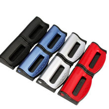 2x Car Seat Belts Clips Safety Adjustable Accessories For Mazda 3 6 Spoilers CX-5 CX 5 CX7 323 CX3 CX5 626 M3 M5 MX5 RX8 Atenza(China)
