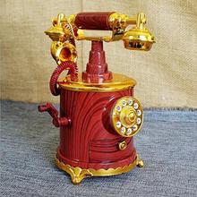 Темно-красный сентябрь новая модель креативная Ретро модель телефона музыкальная шкатулка домашний магазин коллекция украшений подарки