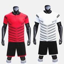 Пустые футбольные майки; комплект униформы для детей; survetement; футбольные тренировочные комплекты для мальчиков и девочек; Спортивный костюм с короткими рукавами высокого качества