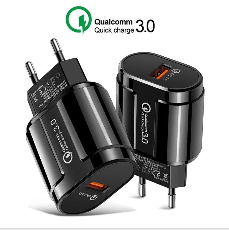 Quick Charge 3,0 24W Qualcomm QC 3,0 4,0 cargador rápido USB de carga portátil cargador de teléfono móvil para iPhone Samsung Xiaomi Sony Bakeey 12 en 1 USB tipo-c HUB a HDMI RJ45 Multi USB 3,0 adaptador de corriente para MacBook-Pro estación de acoplamiento para portátil