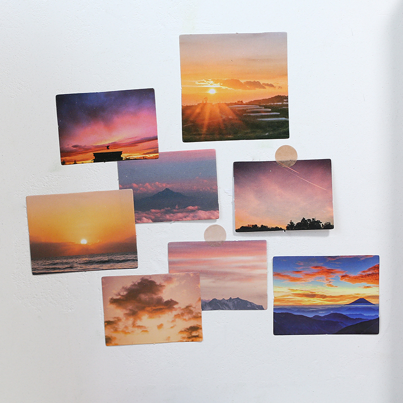 46pcs/pack Romantic Flowers Bloom Scrapbook Sticker Diy Photo Album Decor Diy Diary Album Stick Label Scrapbooking Sticker