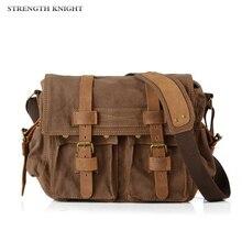 цена на Retro Men Messenger Bags Vintage Canvas Handbags Men's Crossbody Sacoche Homme Man Satchels Bolsos Male Travel Shoulder Bags