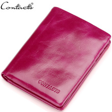 High quality genuine leather oil wax men's wallet short wallets for men portomonee male card holder carteira masculina walet цены