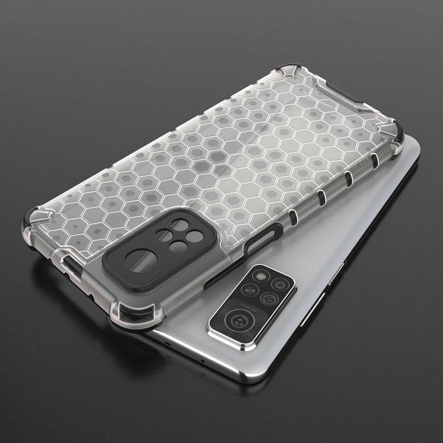 Mi10T Pro Mi 11i 11 Lite Back Case Bumper Funda for Xiaomi Mi 10T Pro Case Redmi Note 10 T 9 T10 T9 9S 9T Phone Cover Shockproof 6