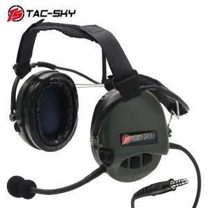 Image 5 - TAC SKY TCI LIBERATOR II ネックバンド SORDIN シリコーンイヤーマフ版 Thoradin ピックアップノイズリダクション狩猟戦術的なヘッドフォン