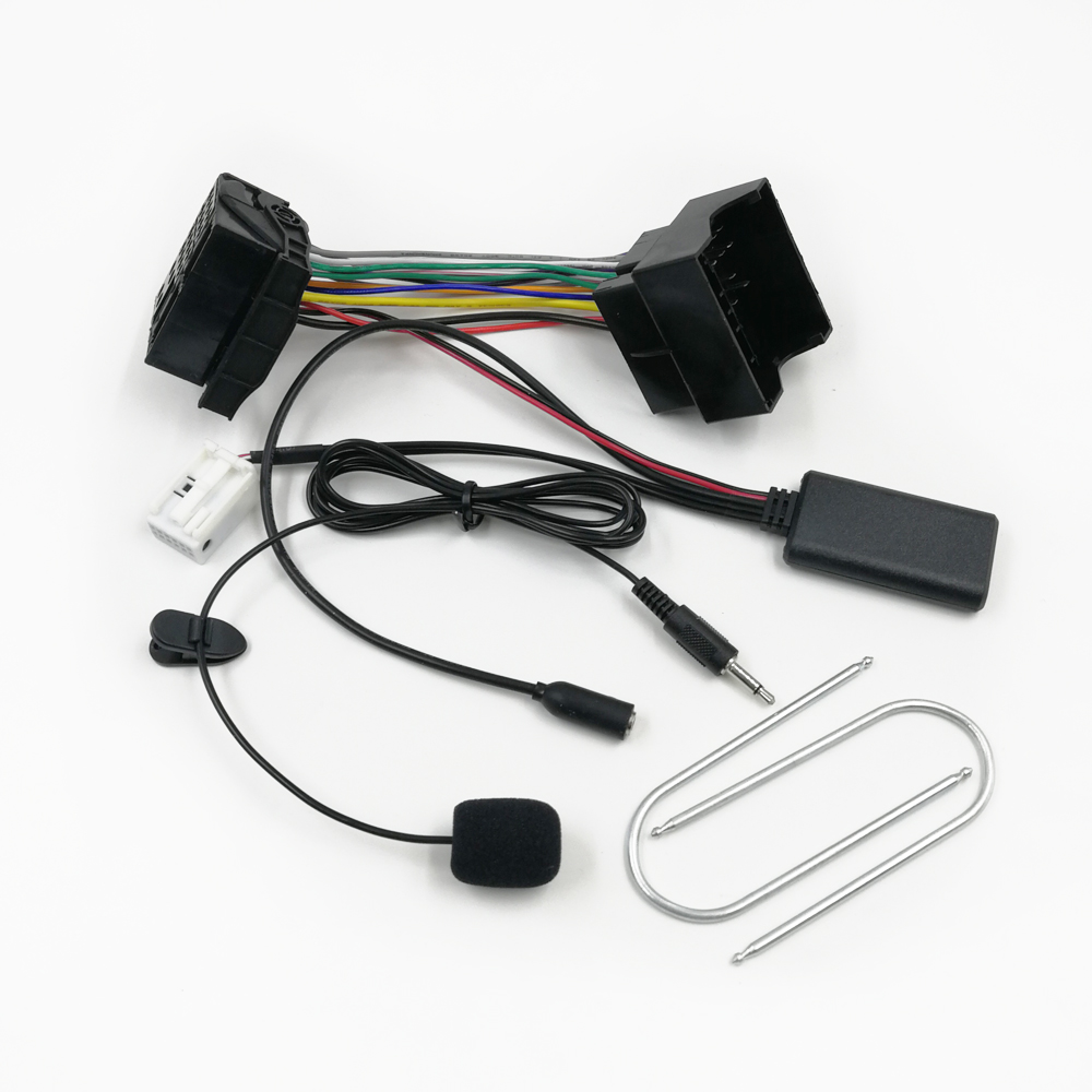 Biurlink RD4 Car Bluetooth 5 0 Full Harness Wiring AUX Adapter Phone Call Hardsfree for Peugeot 206 207 307 308 408 301 508