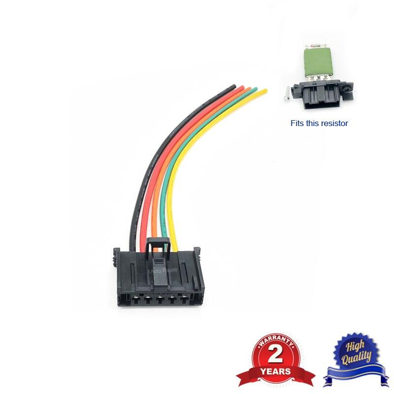 Fits 207 1.4 Petrol Heater Blower Fan Resistor Wiring Harness #2