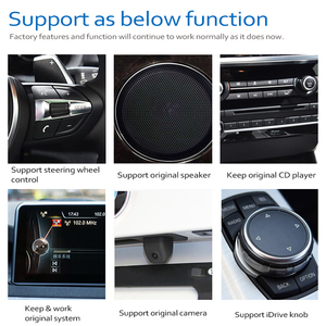 Image 4 - Car Radio DVD Player For BMW Z4 E89 2009~2018 CIC Android 8.0 up Autoradio GPS Navigation HD Touch Screen