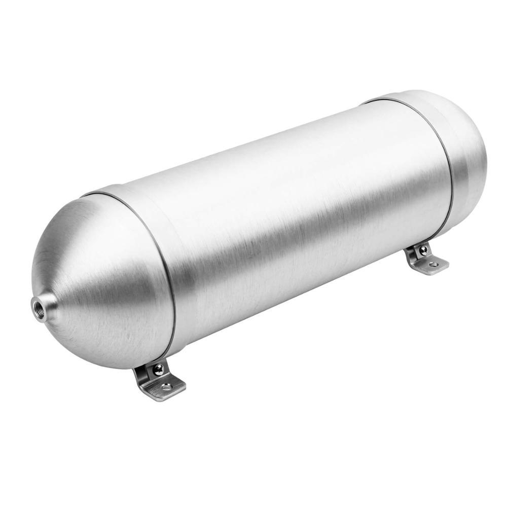 3 Gallon aluminum Seamless air cylinder air tank pneumatic air suspension system tunning vehicle parts