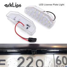 For Mazda RX-8 03-12 Mazda6 Atenza 07-12 2pcs Error Free White Canbus Car LED License Plate Lights Number Lamps Auto Accessories