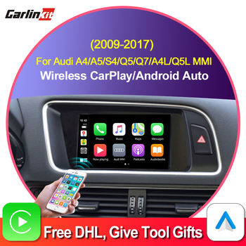 Carlinkit Decoder 2.0 CarPlay/Android Auto for AUDI A4 A5 S4 Q5 Q7 A4L Q5L 3G/3G+MMI iPhone Android Wired Wireless Carlife Kit
