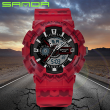 Reloj Digital Hombre The Best Gift of Digital Outdoor Military Field Electronic