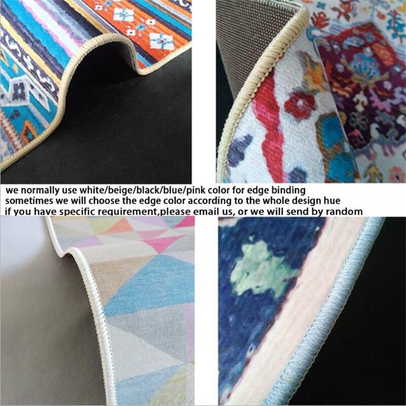 AOVOLL ковры и коврики для дома гостиная Американский Ретро Классический персидский геометрический этнический стиль ковер современный детский Декор мальчик